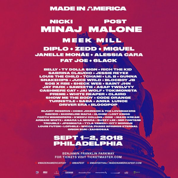 Image result for made in america 2018 lineup