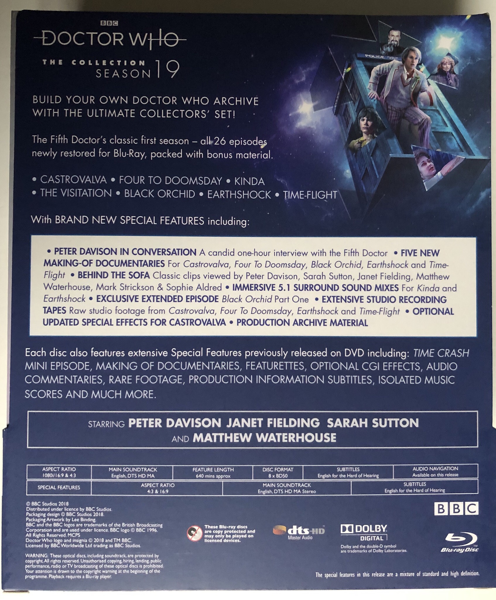 Doctor Who Season 19 Blu Ray Review – Part 2! (Unboxing