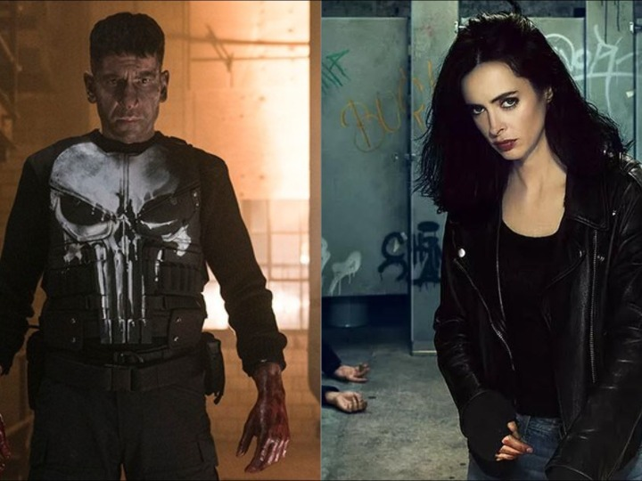 Jessica Jones The Punisher Marvel