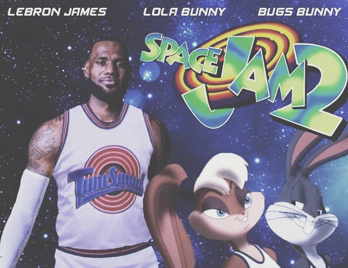 'Space Jam 2' Starring LeBron James Officially Receives a ...